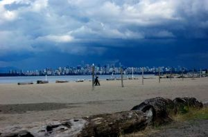 Vancouver from Locarno Beach.