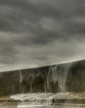 Storming the Wall - The Cobb, Lyme Regis