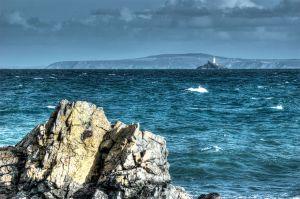 Godrevy Lighthouse.