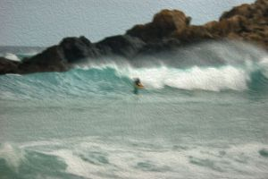 Surfer 4 - Photo Art.