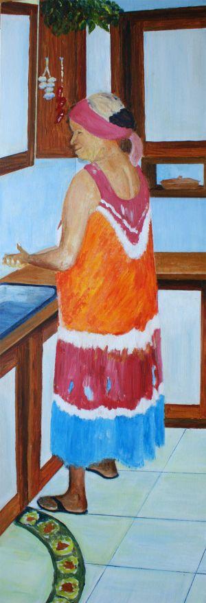 Gracie - Original Painting on Canvas