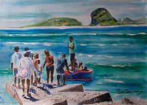 Beach Party - Departure.