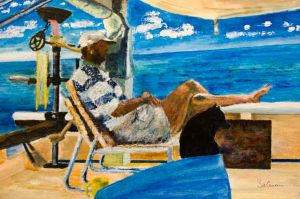 John Smith %26 Winger - 40x30cm - Original Painting on Card