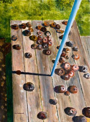 Last Rites of Spring -  30x40cm - Original Painting on Card